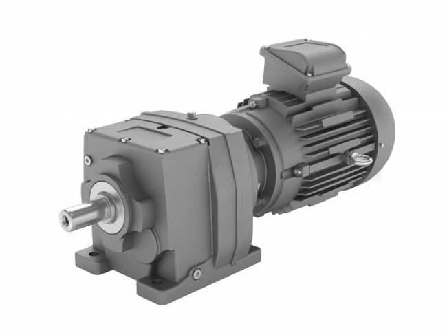 Series M – Helical in-line geared motor