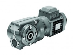 Series C – Helical worm geared motor